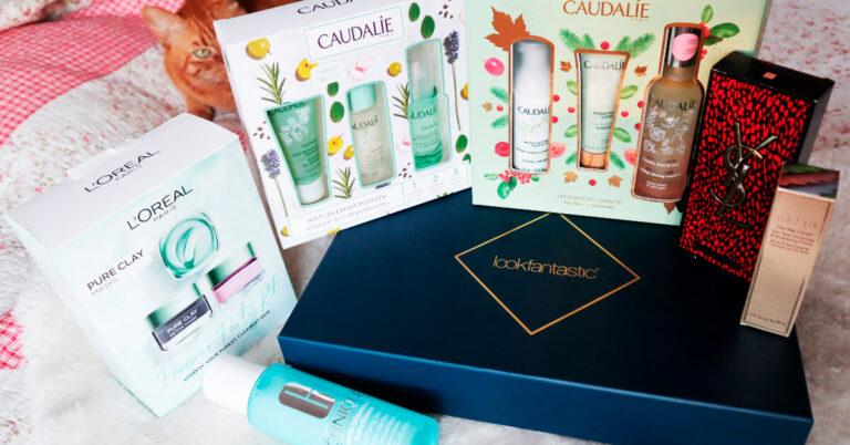 cutii cadou de cosmetice de Crăciun comandate de pe Look Fantastic(1)