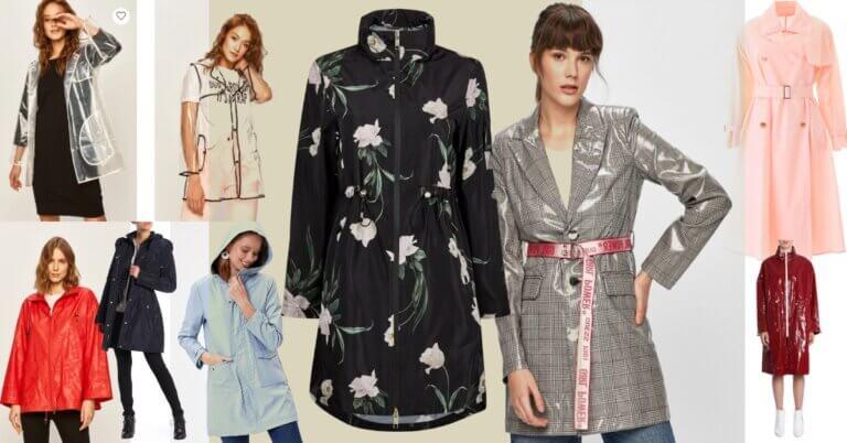 jachete de ploaie impermeabile trendy și feminine