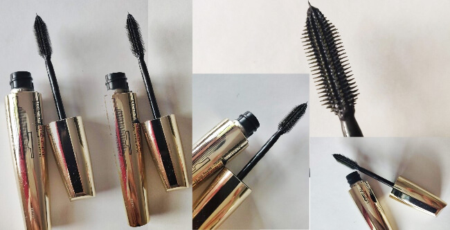 mascara L'Oréal Paris Volume Million Lashes Extra Black_perie și prezentare textură_review