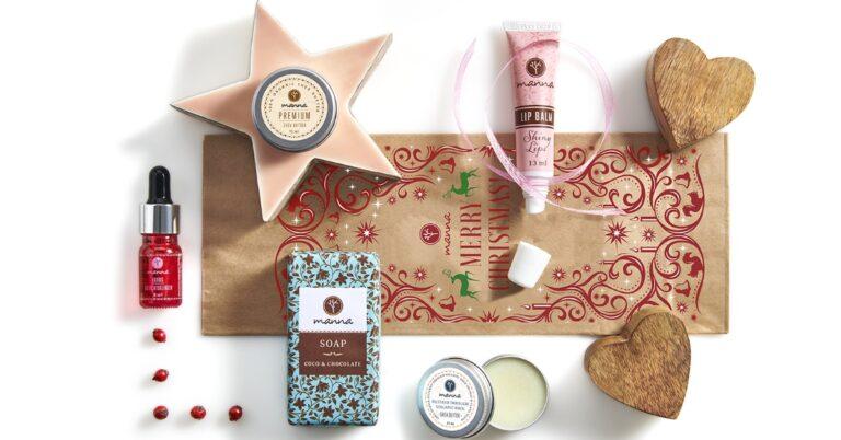 ofertă cu cadou cosmetice vegane Manna