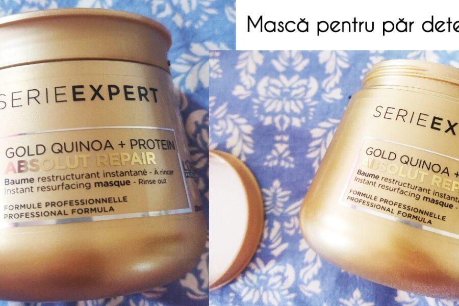 Mască de păr L'Oréal Professionnel Serie Expert Absolut Repair Gold Quinoa + Protein