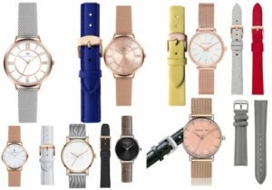 set de ceasuri pentru femei cu curele de rezervă
