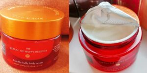 Cremă de corp Rituals The Ritual of Happy Buddha Buddha Belly Body Cream review