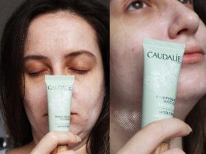 Mască exfoliantă tip peeling chimic cu acid glicolic pentru strălucire din set Essentiels de Beauté