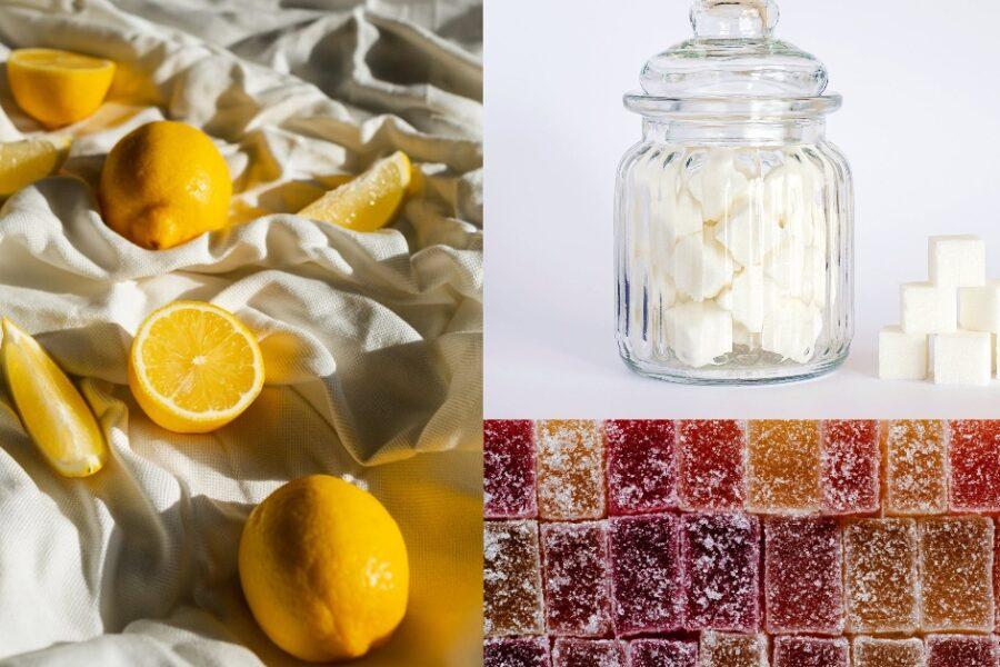cum să faci cubulețe din zahăr cu lămâie pentru scrub acasă