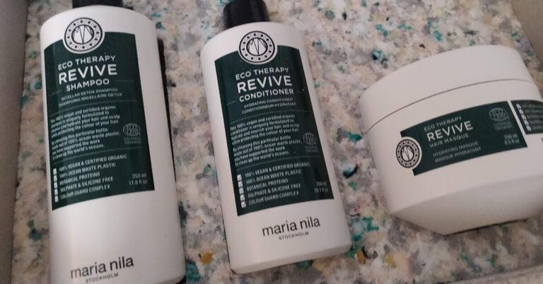 gama de produse profesionale de păr cea mai sustenabilă Maria Nila Eco Therapy Revive