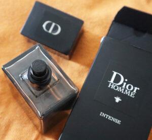 Dior Homme Intense Eau de Parfum_sticlă și detalii