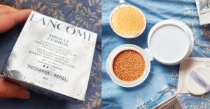 Lancôme Miracle Cushion cu refill_review și swatch