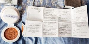 fond de ten cu burete Lancôme Miracle Cushion cu refill_păreri
