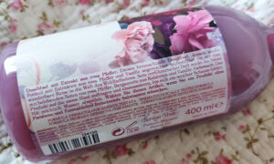 gel de duș hidratant cu piper roz Bottega Verde Pepe Rosa_ingrediente