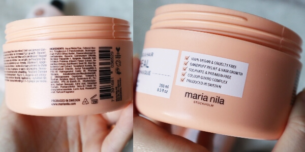 mască de păr Maria Nila Heal Head & Hair_review și păreri