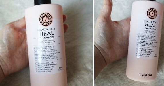 șampon gama Heal Head & Hair Maria Nila Stockholm_review