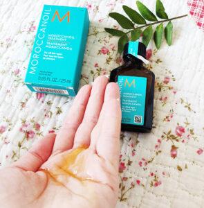 uleiul de păr tratament Moroccanoil Treatment_textură