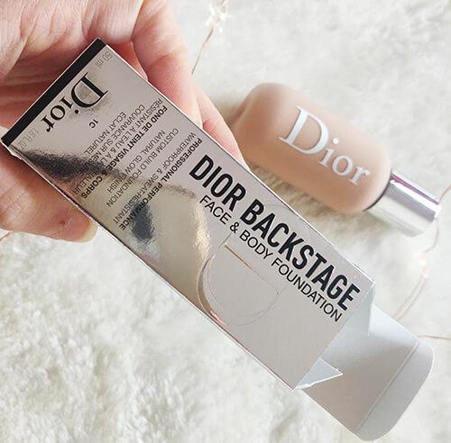 fond de ten Dior Backstage Face & Body_cum mi se pare