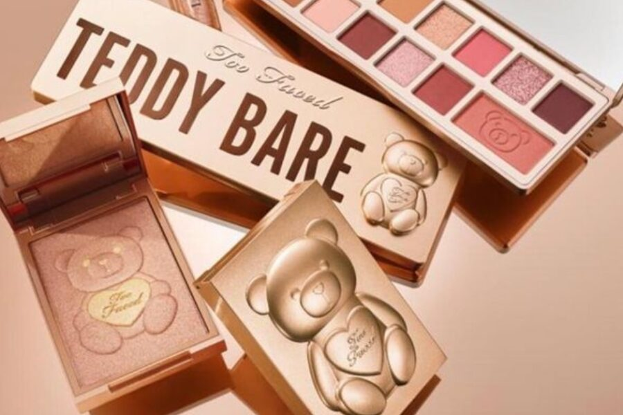 noua colecție de makeup Too Faced Teddy Bare