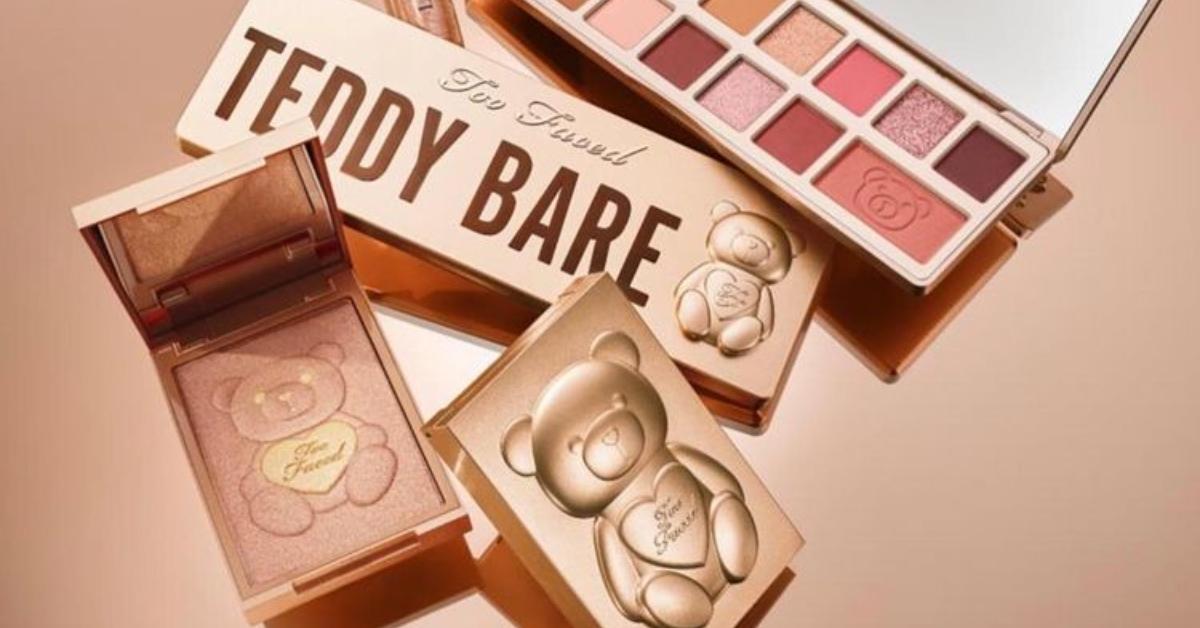 noua colecție de makeup Too Faced Teddy Bare