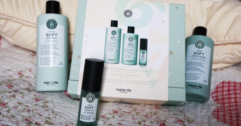 gama True Soft Maria Nila_șampon_balsam de păr și ulei de păr_review