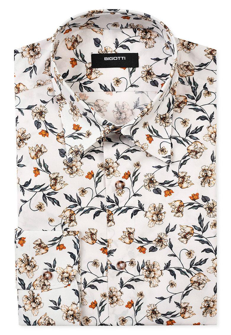 cămașă pentru bărbați cu imprimeu floral în înflorire Bigotti