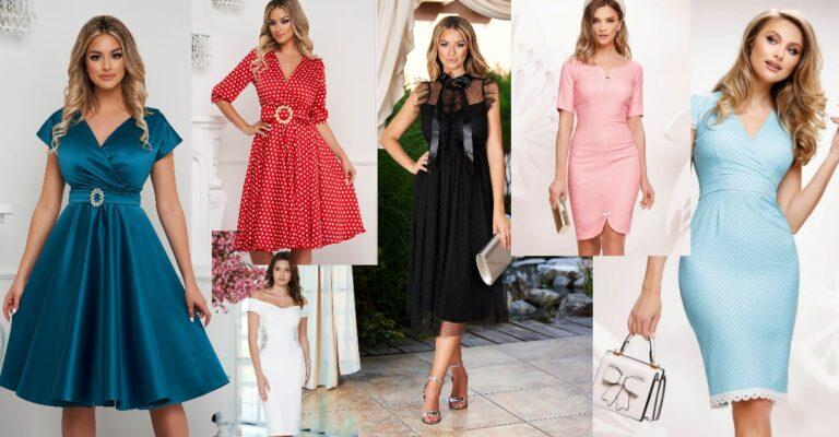 rochii de inspirație retro cu detalii superbe