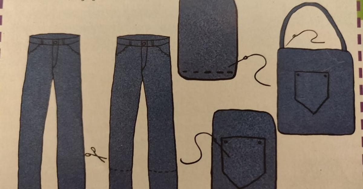 cum să faci o geantă handmade unicat din blugi